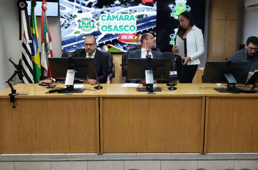 Legislativo osasquense segue orientações da OMS e mantém sessões online