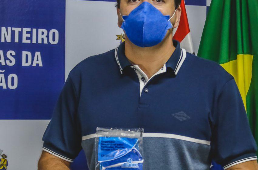 Entrega de máscaras realizadas pela Prefeitura de Santana de Parnaíba beneficia mais de 80 mil pessoas