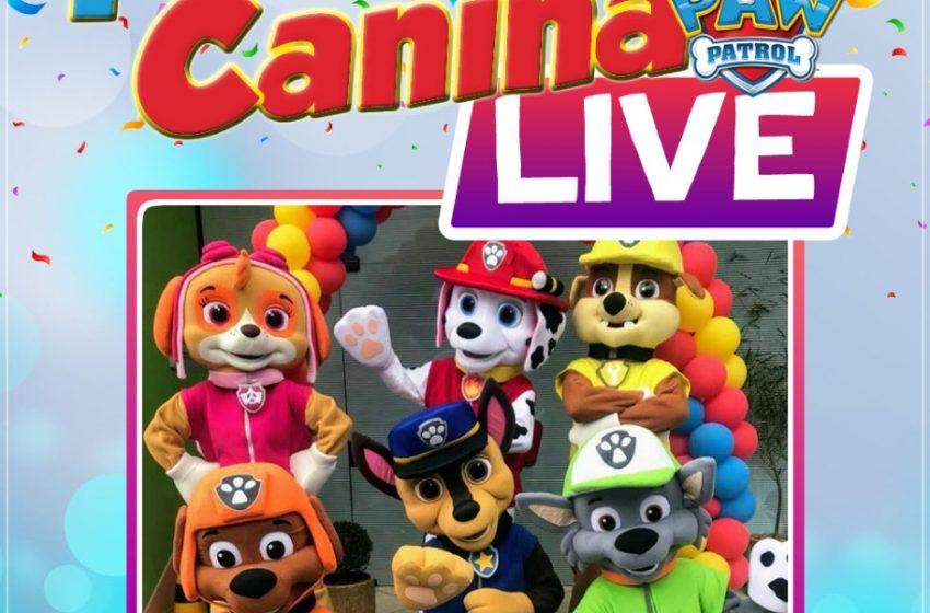 Farah eventos traz dia 31 Live da Patrulha Canina