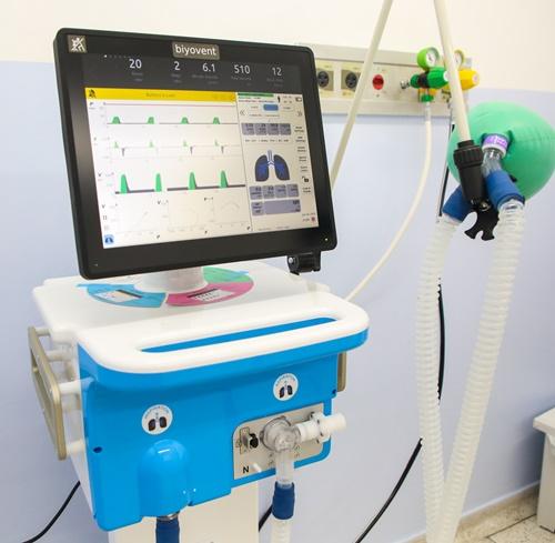 Hospital Antônio Giglio recebe quatro respiradores