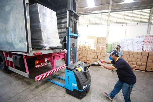 Santana do Parnaíba recebe doação de mais 3 mil cestas básicas