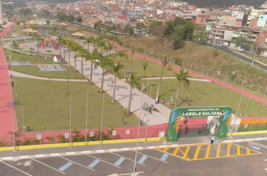Prefeito Elvis Cezar inaugura o 5º Parque Municipal de Santana de Parnaíba no Parque Santana
