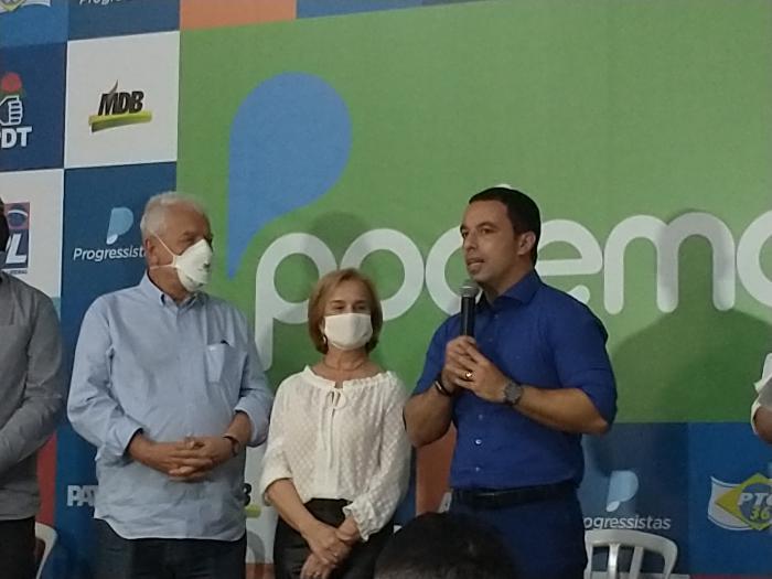 Rogério Lins escolheu Ana Maria Rossi para ser sua Vice nas eleições de 2020
