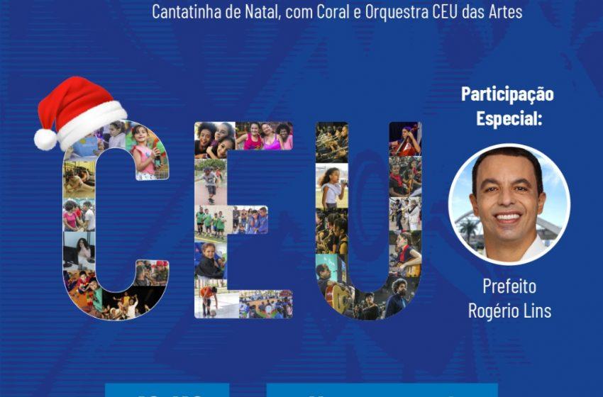 CEUS das Artes de Osasco traz Rogério Lins em live de Natal