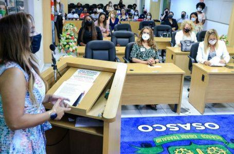 Câmara de Osasco celebra 89 anos de voto feminino no Brasil