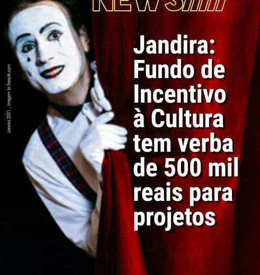 Jandira tem inscrições abertas para incentivo à Cultura com verba de 500 mil reais para projetos