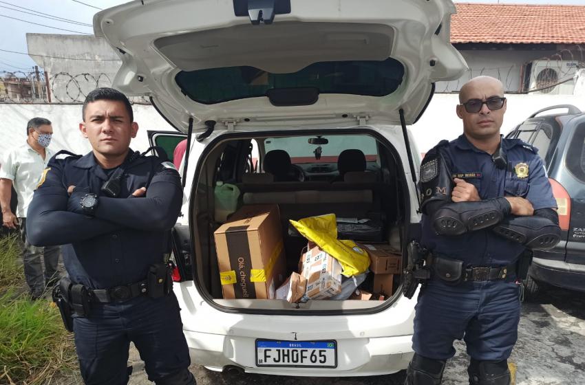 Ronda Ostensiva com Motocicleta (ROM) recupera carro fruto de roubo em Jandira