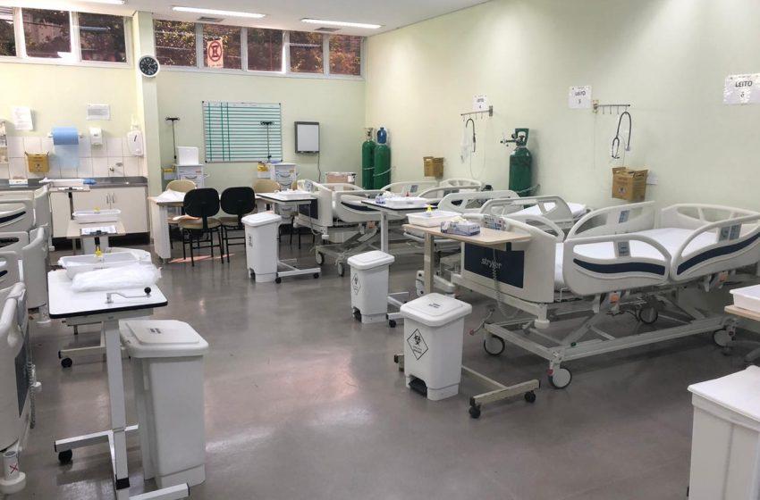 Hospital Municipal de Barueri disponibiliza mais leitos para pacientes com Covid-19