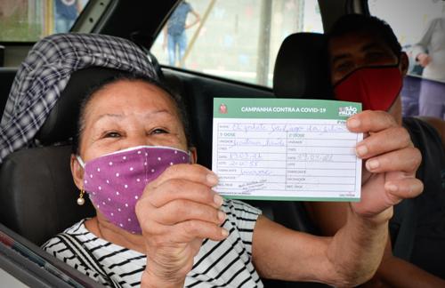 Jandira inicia vacinação do COVID- 19 aos idosos acima de 69 amanhã, 25/3.