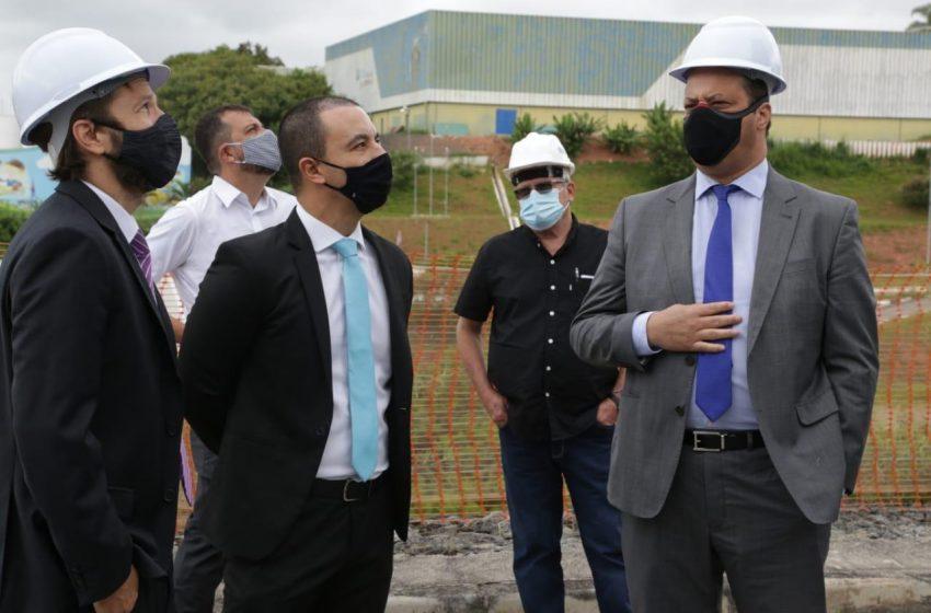 Legislativo participa de visita técnica às obras do novo Fórum de Osasco