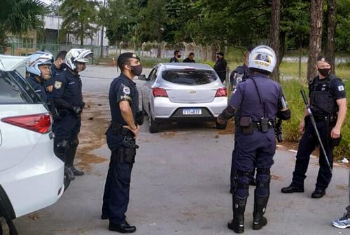 Nos últimos dias GCM de Jandira realiza apreensão de drogas e resgata vítima de sequestro relâmpago