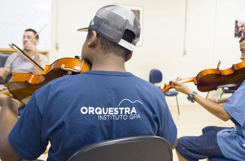 Alunos do Instituto GPA de Osasco participam Orquestra Sinfônica Brasileira de 21 a 30 de junho