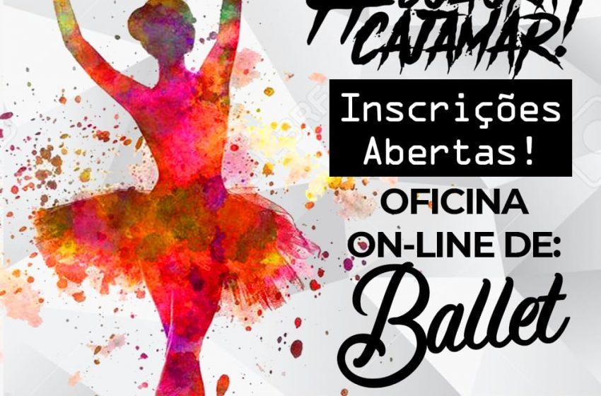 Cajamar abre oficinas gratuitas de Ballet Clássico no formato digital