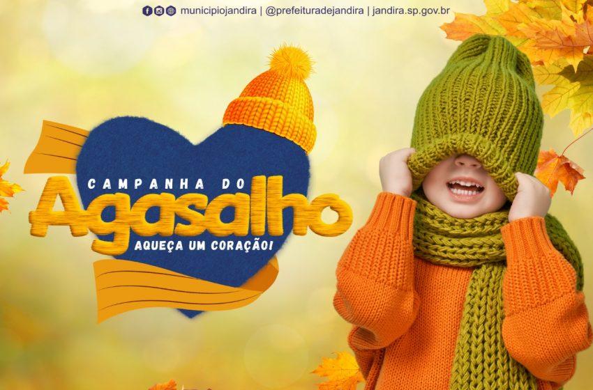 Jandira lança Campanha do Agasalho 2021