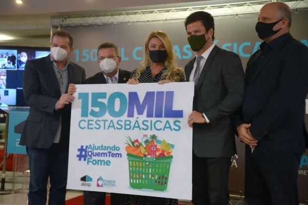 Alesp doa 150 mil cestas básicas para famílias em situação de vulnerabilidade social