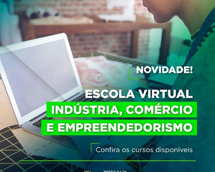 """Cotia lança a """"Escola Virtual"""" com oportunidades de cursos gratuitos"""