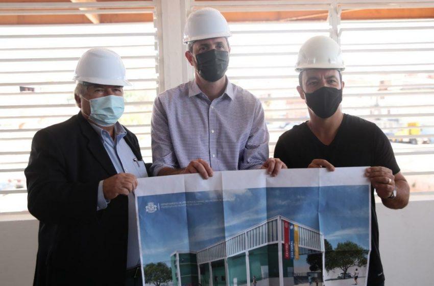 Secretário Nacional de Saneamento vistoria obras de urbanização do Rochdale em Osasco