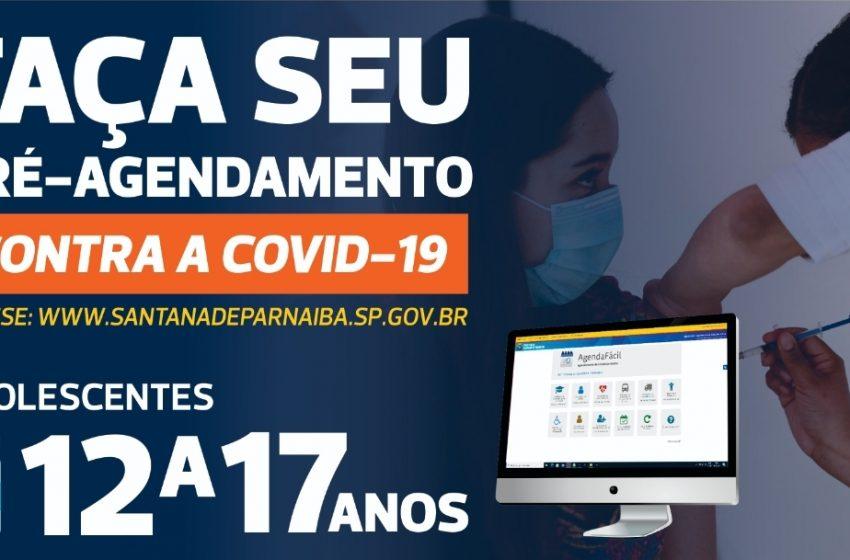 Santana de Parnaíba vai vacinar adolescentes a partir 12 anos