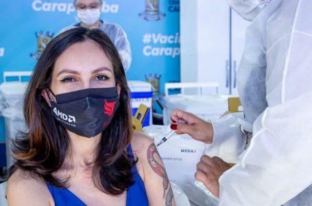 Carapicuíba inicia vacinação para 28 anos
