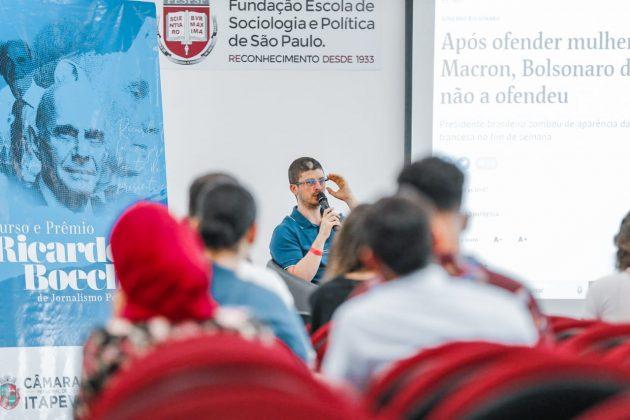 Curso e prêmio Ricardo Boechat de Jornalismo Político está com inscrições abertas em Itapevi