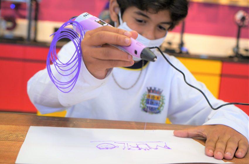 Barueri traz projeto inédito SalaMakerno retorno das aulas