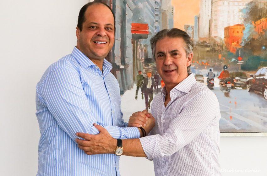 """Rubens Furlan, """"Papa"""" da política da região, recebe Ribamar Silva, Presidente da Câmara de Osasco"""
