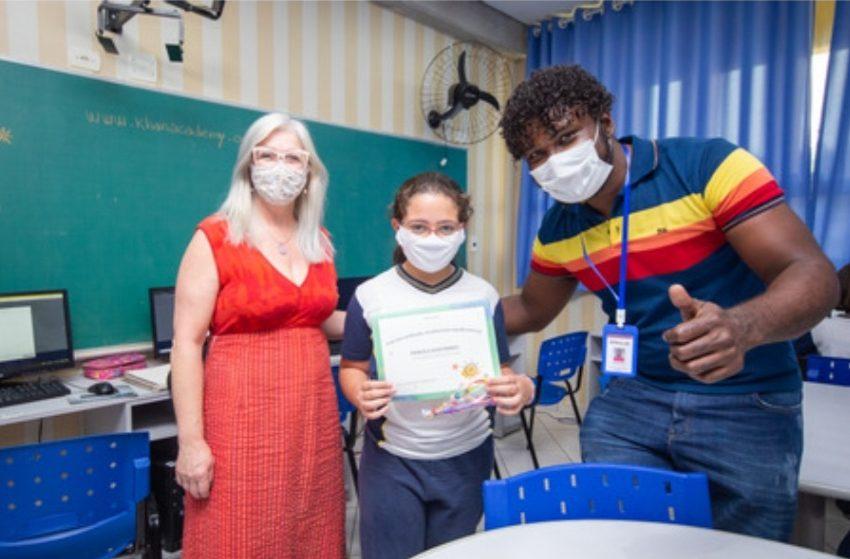 Alunos de Santana de Parnaíba se destacam em desafio nacional de matemática