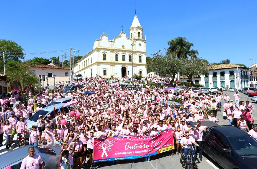 Santana de Parnaíba faz abertura do Outubro Rosa sábado (2).