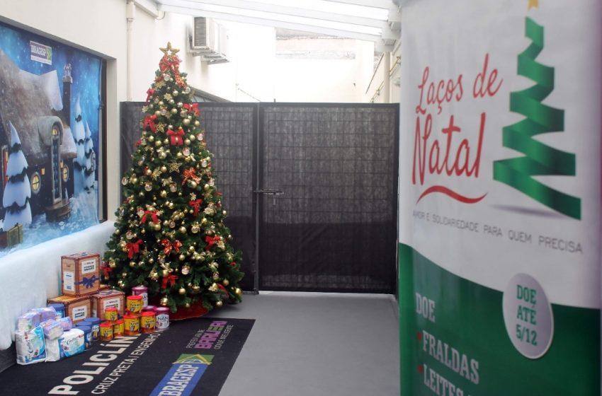 Barueri: Campanha Laços de Natal 2021 arrecadará cestas para famílias carentes